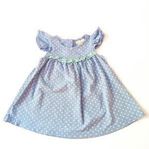 MATILDA JANE Girls Dress Size 12 Months Polka Dot